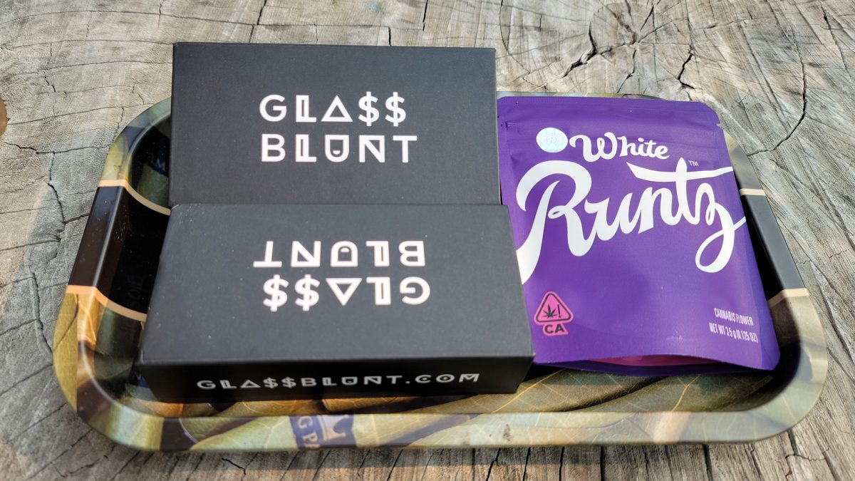 , White Runtz Review With Glass Blunts, Glassblunt